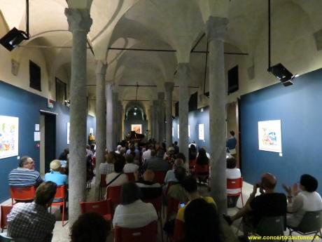 La Seconda scuderia leonardesca al Castello di Vigevano, durante uno dei concerti di ClassicaViva, 2014